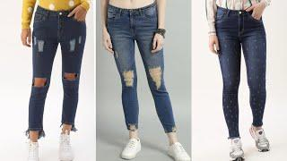 Latest Jeans Top Design For Girls 2020|Stylish Jeans Designs|Fancy Jeans Top|College Girls Jeans Top
