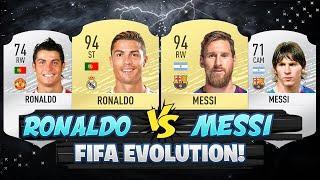 RONALDO VS MESSI FIFA EVOLUTION!