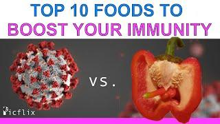 TOP 10 Foods to Boost your Immune System to Fight the Coronavirus