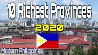 Top 10 Richest Provinces 2020 [ Philippines ]