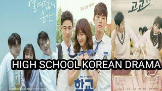 Top 10 high school Korean drama (2020)