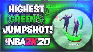 HIGHEST GREEN PERCENTAGE JUMPSHOT AFTER PATCH 10! | NBA 2K20 BEST Jumpshot!