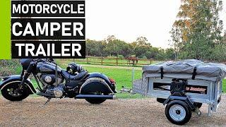 Top 10 Motorcycle Camper Trailers | Best Camper for Motorcycle Touring