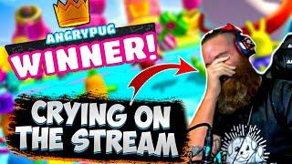 TOP 10 WINS IN FALL GUYS // CRYING ON THE STREAM?! // FALL GUYS BEST MOMENT WTF MOMENT