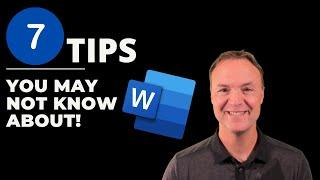 7 Tips in Microsoft Word You May Not Know About