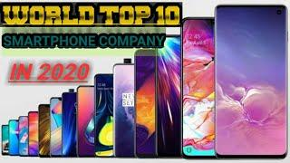 WORLD:TOP 10 SMARTPHONE COMPANY | IN 2020 |दुनिया की सबसे बड़ी टॉप 10 स्मार्टफोनकंपनियां_ROYALSMARTY