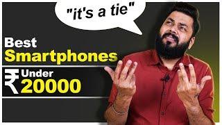 TOP 5 BEST MOBILE PHONES UNDER ₹20000 BUDGET ⚡⚡⚡ March 2020