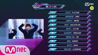 What are the TOP10 Songs in 3rd week of May? M COUNTDOWN 200521 EP.666