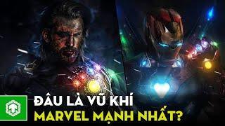 TOP 10 VŨ KHÍ Mạnh Nhất Marvel Comics | Ten Tickers