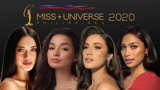 TOP  9 CANDIDATES -  Familiar faces eye Miss Universe Philippines 2020 crown.