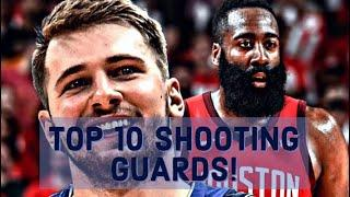 Top 10 Shooting Guards In The NBA - (Top 10 Shooting Guards)