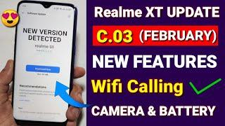 Realme XT C.02 Realme Ui Update released | WiFi calling feature for Realme XT New Update