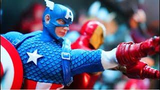 Marvel Legends Avengers Action Figure Display!