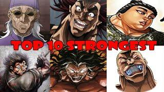 TOP 10 STRONGEST BAKI CHARACTERS 2020
