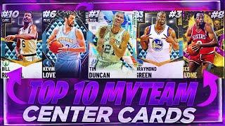 RANKING THE TOP 10 BEST CENTERS IN NBA 2K21 MYTEAM!! NOVEMBER TOP 10 CENTERS!!