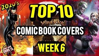 TOP 10 Comic Book Covers | Week 6