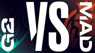 G2 vs. MAD | Playoffs Round 3 - Game 2 | LEC Spring | G2 Esports  vs. MAD Lions (2020)