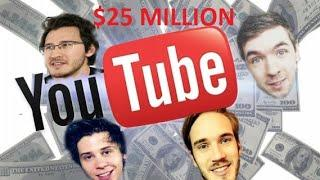 TOP 10 MONEY MAKING YOUTUBERS!! RICHEST YOUTUBERS