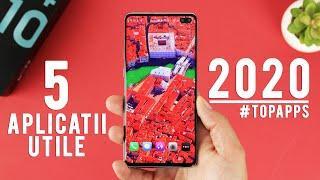 TOP 5 APLICATII UTILE pentru telefoanele cu Android 2020 !
