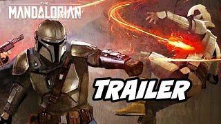Star Wars The Mandalorian Precursor Trailer Test Footage Breakdown - Star Wars Underworld