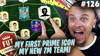 FIFA 20 OMG I GOT MY FIRST PRIME ICON AND BUILT MY NEW 7 MILLION SQUAD for FUT CHAMPIONS!