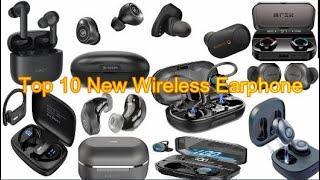 Top 10 New Wireless Earphone | New Headphone | New Technology Promotor