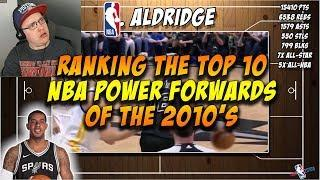 Reacting To Dom2K Ranking The NBA's Top 10 Power Forwards of The 2010s (NBA 2010s)