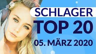 SCHLAGER CHARTS 2020 - Die TOP 20 vom 05. März