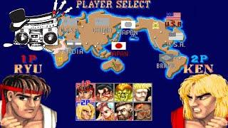 High Society Radio TOP 6: Top 6 Street Fighter 2 Characters