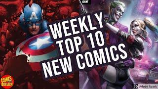 TOP 10 NEW KEY COMICS TO BUY FOR FEBRUARY 5TH 2020 - WEEKLY PICKS FOR NEW COMIC BOOKS  MARVEL / DC
