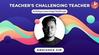 Abhishek Sir Accepting PUSH-UP Challenge | 21 Days Learning Challenge Learn During Lockdown |Vedantu