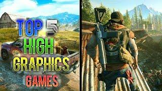 Top 5 High Graphics Games of 2019 for android|| Console type graphics ||