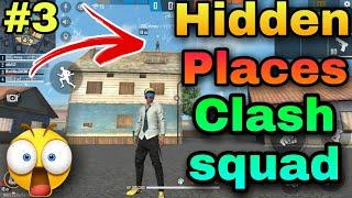 new hidden place in clash squad Top 5 || part 3 || best place for clash squad Barmuda map |