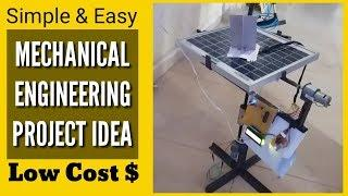 Top Simple Mechanical Engineering Project Ideas- 2 | For Final Year Students (2020)